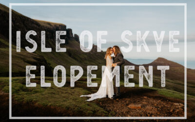 Isle of Skye Elopement, Scotland