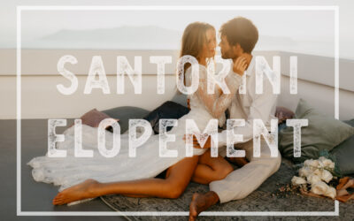 Inspiration for your Santorini Wedding