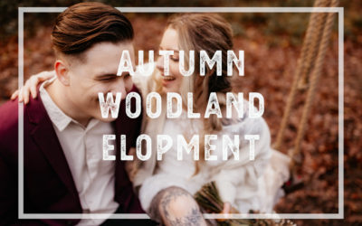 Autumn Woodland Elopement