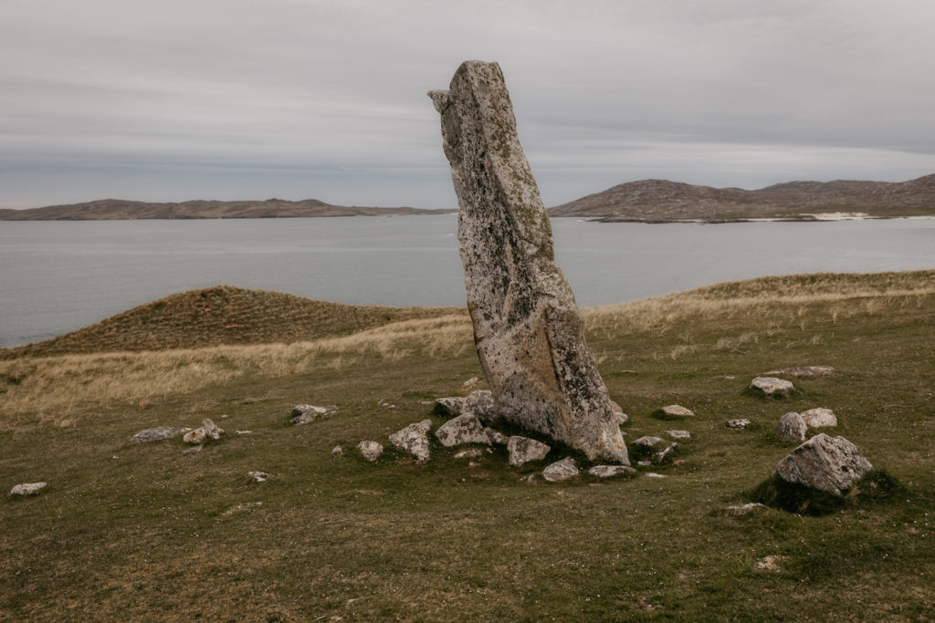 Outer Hebrides standing stone