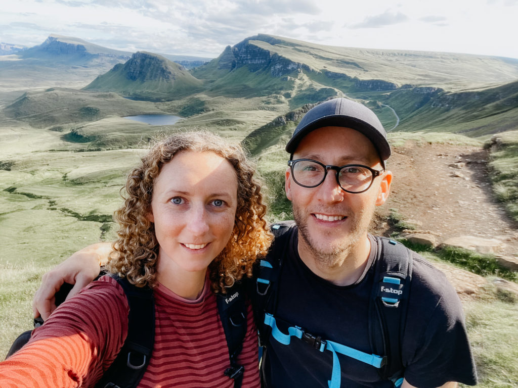 Oli and Steph Photography at the Quiraing, Isle of Skye