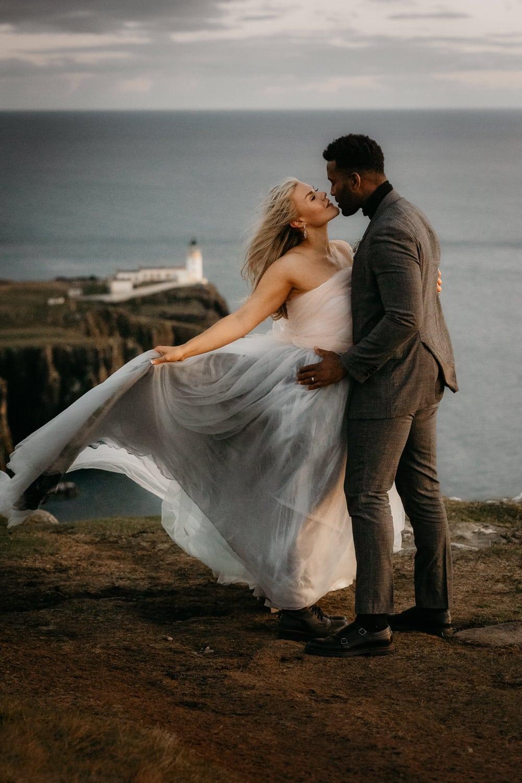 Isle of Skye elopement Neist Point