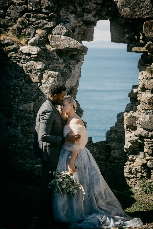 Duntulm castle elopement Isle of Skye